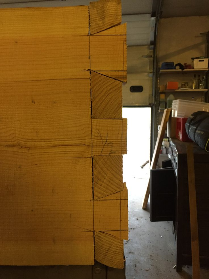 Fingertapning færdig. Så er planken låst i en retning.