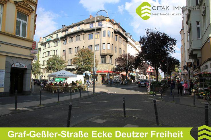 Köln-Deutz-Graf-Geßler-Straße Ecke Deutzer Freiheit