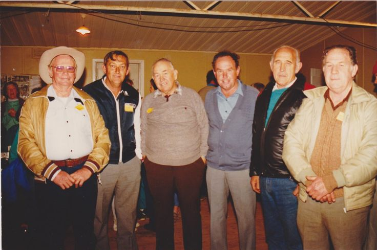 Cousins Charlie`s branch; Stan Mathews, Bob McClure, Bob McGovern, Keith Mathews, Hilton Hopkins & Milton Hopkins.