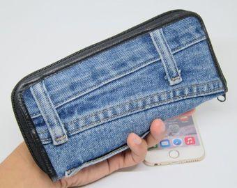 HHHOT Jeans Taschen Handtasche Geldbörsen Geld Taschen