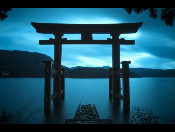 Hakone Shrine Torii