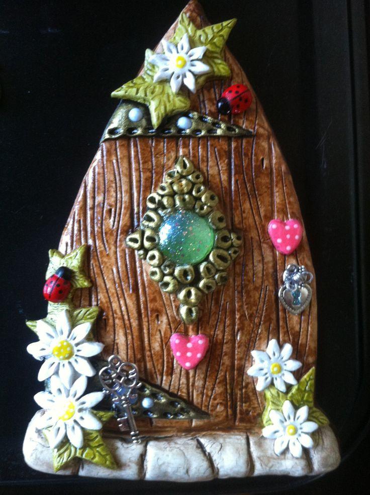 Fairy door by lelasfairydoors on Etsy