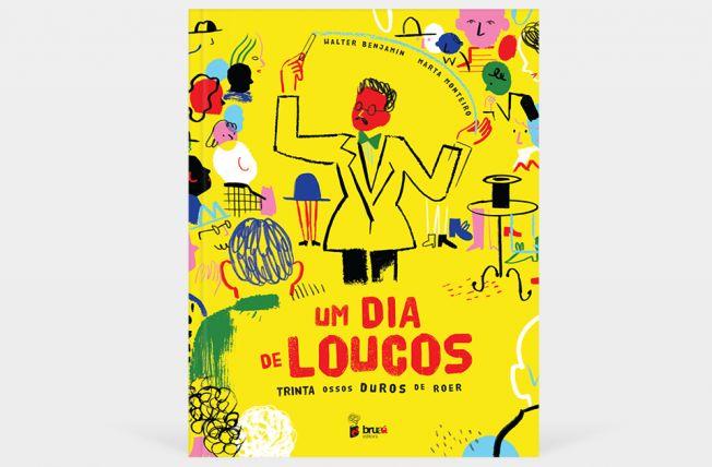 Um dia de loucos... | Walter Benjamin + Marta Monteiro