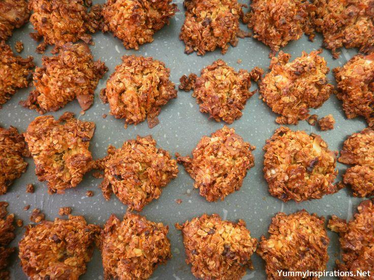 Quinoa, Oat & Coconut Cookies