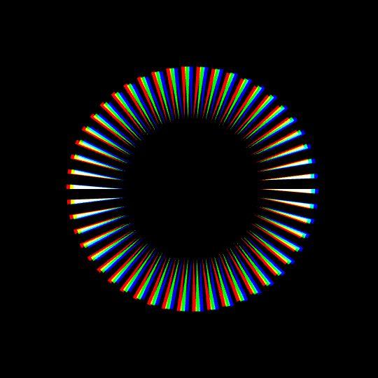 quickie: chromatic arcs(code here)