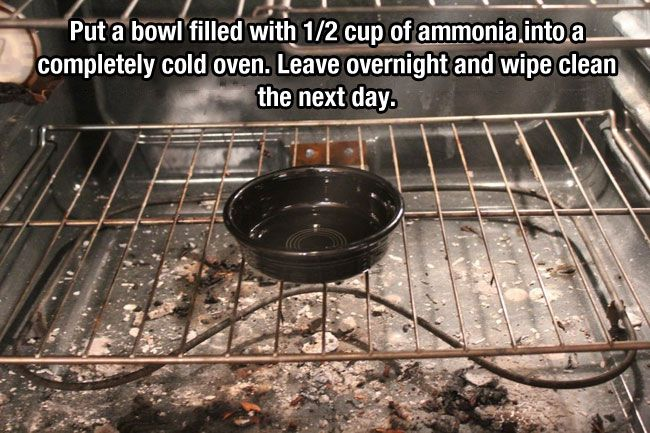 cool-oven-cleaner-ammonia these-21-hacks-will-forever-change-the-way-you-clean-your-house