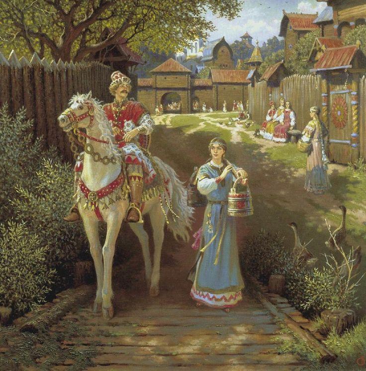 Ящик пандоры  – Воспитание девочек на Руси [Правильное образование]