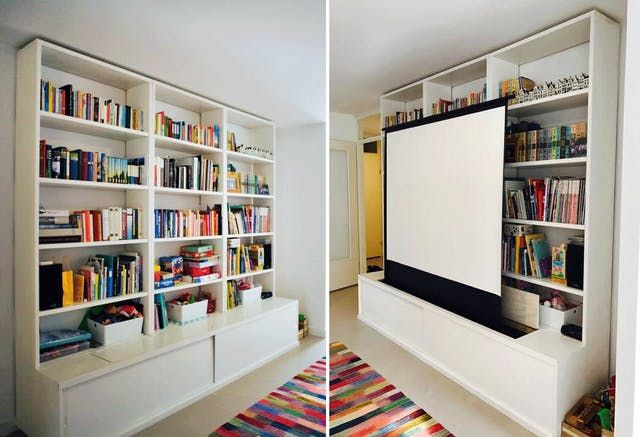 Goodbye TV: Projector Buying Tips & Advice from People Who Made the Switch | Apartment Therapy