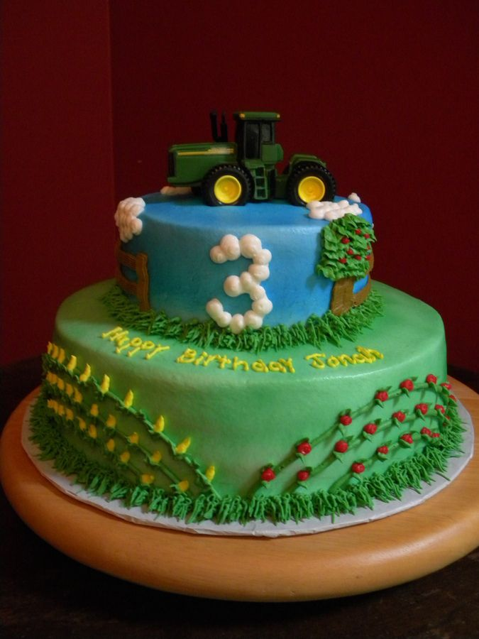 17 Best Images About Tractor Birthday On Pinterest