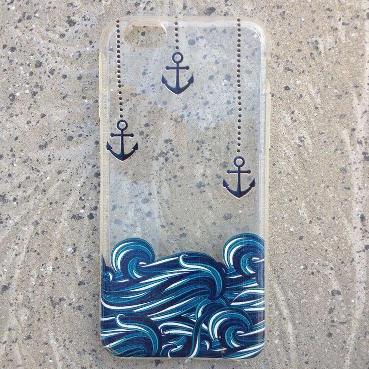 Veja nosso novo produto CASE DE SILICONE ANCORA PARA IPHONE 5/5S/6/6S! Se gostar, pode nos ajudar pinando-o em algum de seus painéis :)