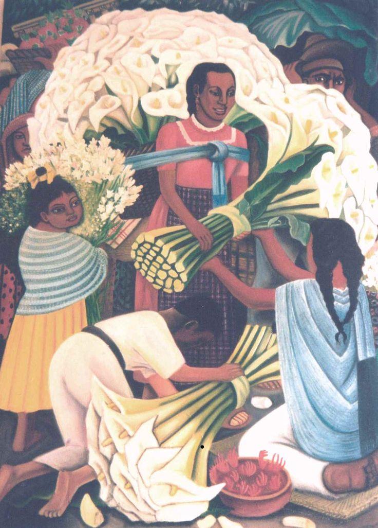 Rivera copy oil on canvas
