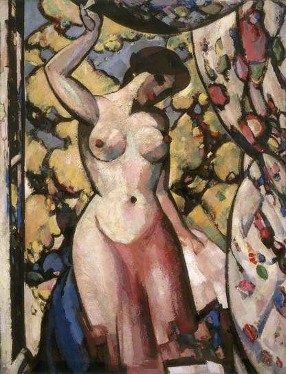 At My Studio Window, 1910 by J.D.Fergusson (1874-1961)