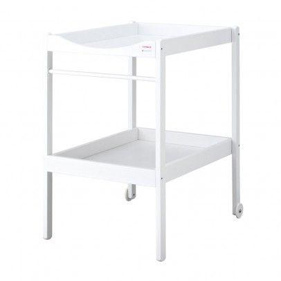Table à langer - Laqué Blanc  Combelle