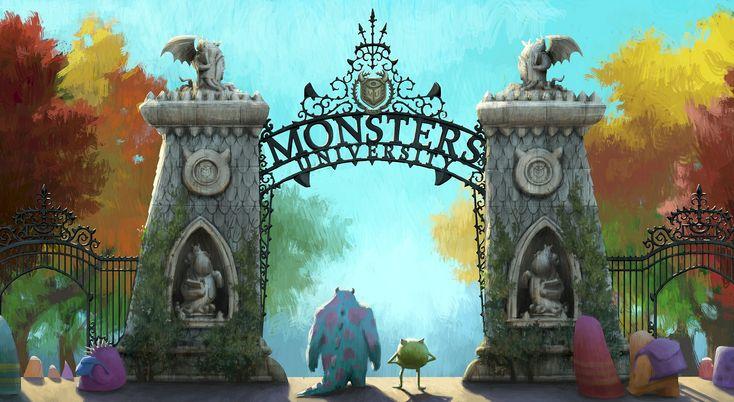 Universidad de Monstruos: Invitaciones para imprimir gratis.