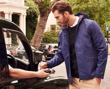 The Contactless #NFC Jacket from @lyleandscott #lyleandscott