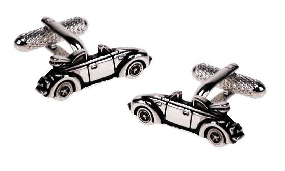 Śmieszny pomysł na prezent dla chłopaka - spinki do mankietów w kształcie kabrioletów ze stali szlachetnej! | NA PREZENT \ Dla mężczyzny ŚLUB \ Stal \ Spinki do mankietów od GESELLE Jubiler