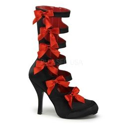 $89 Burlesque Costumes Boots! Love vintage burlesque? Burlesque costume boots on sale this weekend!
