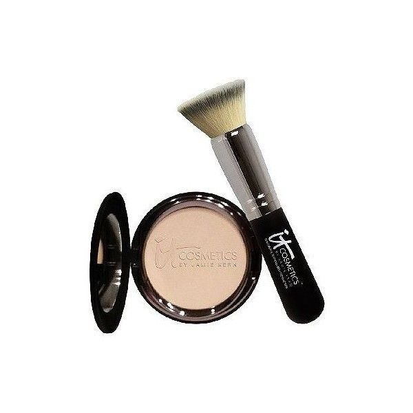 IT Cosmetics Anti-Aging Celebration Foundation Auto-Delivery found on Polyvore featuring beauty products, makeup, face makeup, foundation, mineral foundation, it cosmetics, it cosmetics foundation and paraben free foundation