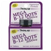 Mega B-12 Dots 5000mcg 60 tabs