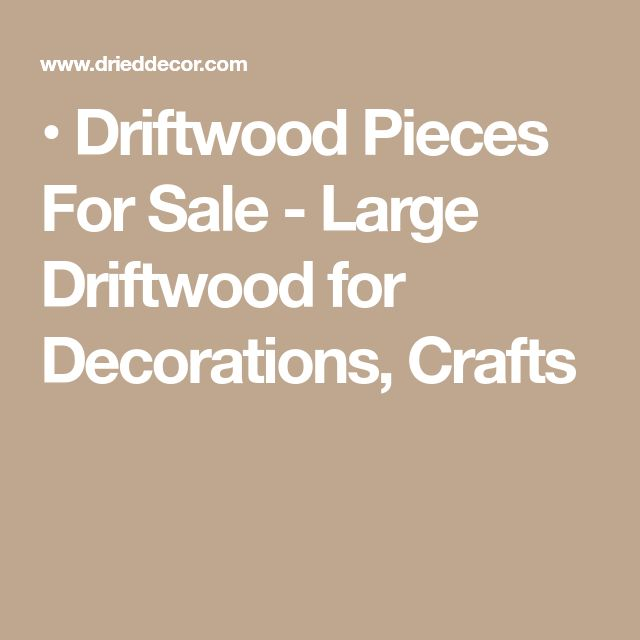 • Driftwood Pieces For Sale - Large Driftwood for Decorations, Crafts