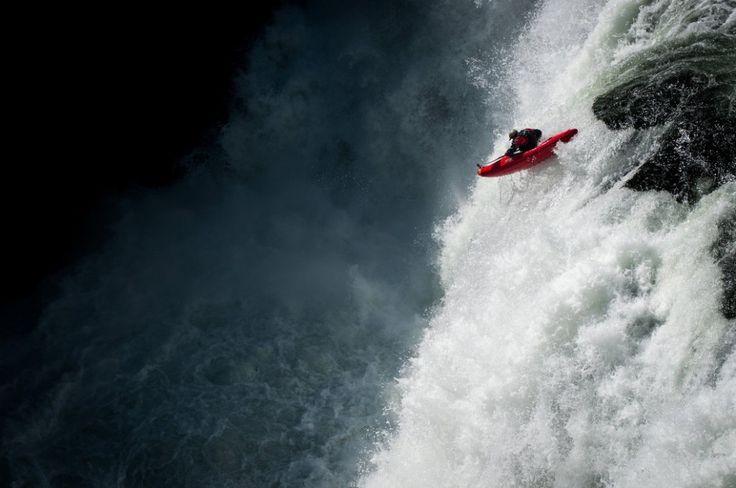 Photographer: David Carlier / Athlete: Gary Edgeworth / Location: Lower Mesa Falls, Idaho (© David Carlier/Red Bull Illume)