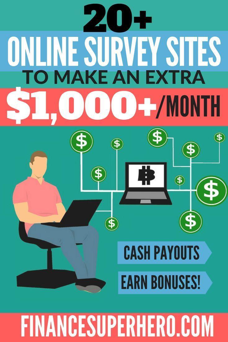 Hustles Surveys Online Survey Paying Sites Every Month