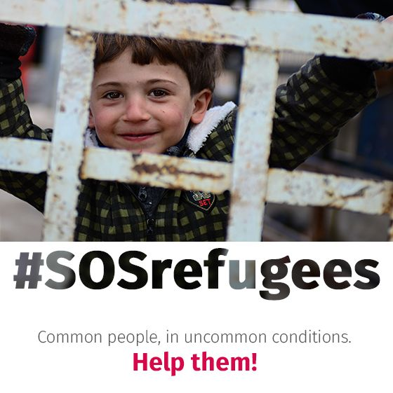 SOSrefugees: The digital marketing agency Globe One Digital and more than 50 partners would like to announce the collaborative initiative SOSrefugees, for our fellow human beings in need. #globeone #globeonedigital #GOD #digitalagency #DigitalMarketingAgency #AthensDigitalAgency #SOSrefugees