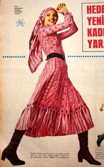 Lavin 1970 Fransız modacılar çingene modası.