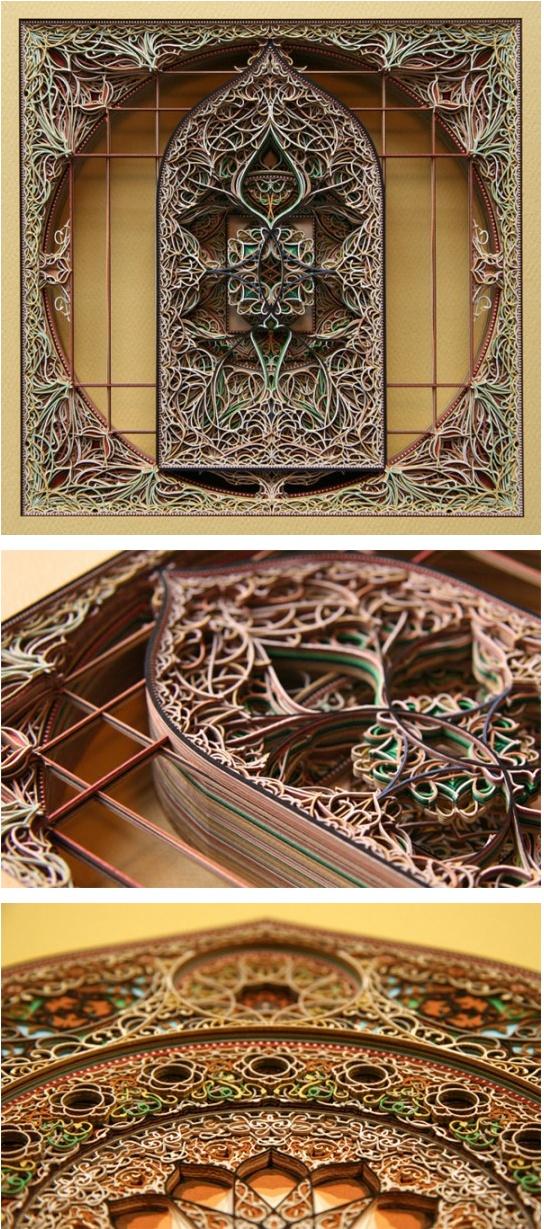 Best A Work Of Art Images On Pinterest Laser Cutting - Beautiful laser cut paper art eric standley