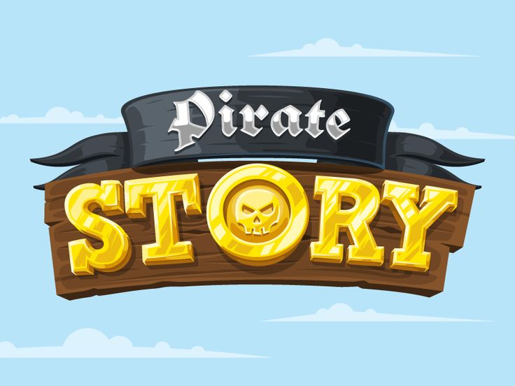Pirate Story Logotype by Alex Ricochet, on dribbble More