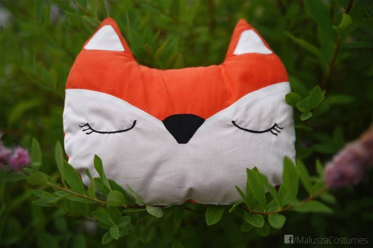 hand sewn - cotton fox