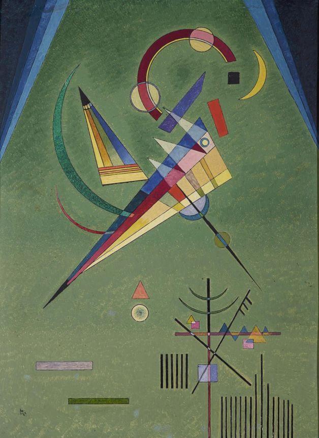 Василий Кандинский. Живопись. Свободное. 1932 год