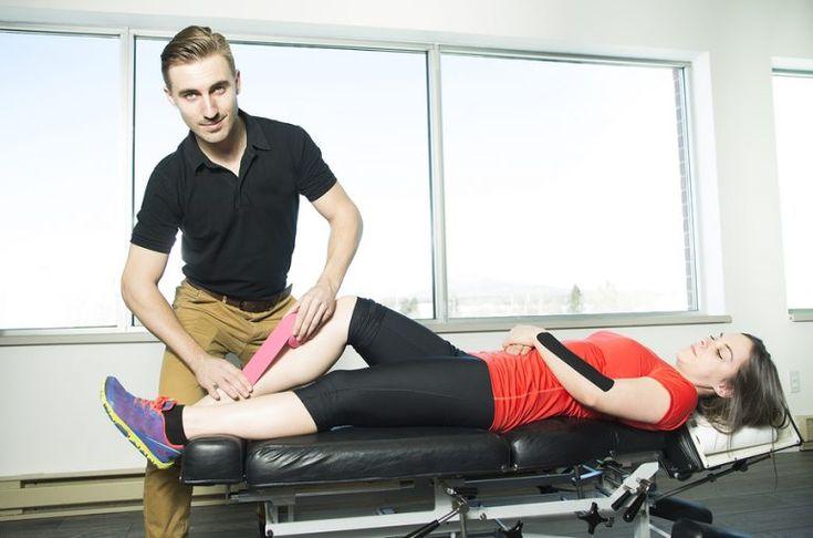 How to tape shin splints my body rehab shin splints