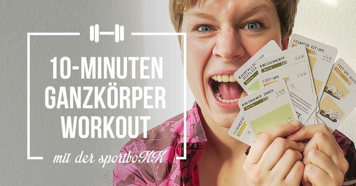 Das 10-Minuten-Ganzkörper-Workout für Läufer von sportboXX