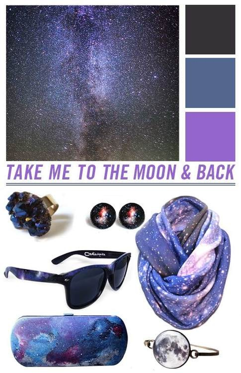 "Colour Me: Galaxy by ""So Little Time""     Ring – PumpkinSeedJewelry