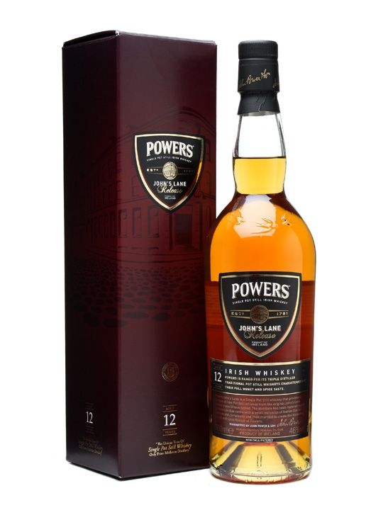 Powers John's Lane 12 Year Old / Single Pot Still