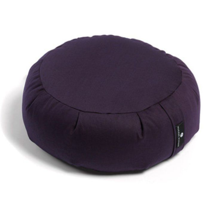 Hugger Mugger Zafu Yoga Meditation Cushion Plum - BO-ZAFU-CHOICE-PLUM