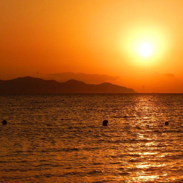 Red deep South sunset #red #sunset #sicilia #favignana