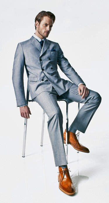 叫ばれるダブルスーツの「復権」。世界のお洒落メンズが着こなすダブルスーツのコーデ集!|U-NOTE [ユーノート]