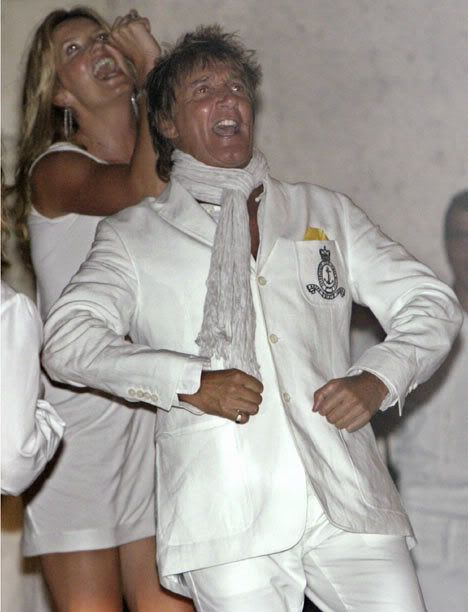 Rod Stewart Marries Penny Lancaster in Italy - Oh No They Didn't!