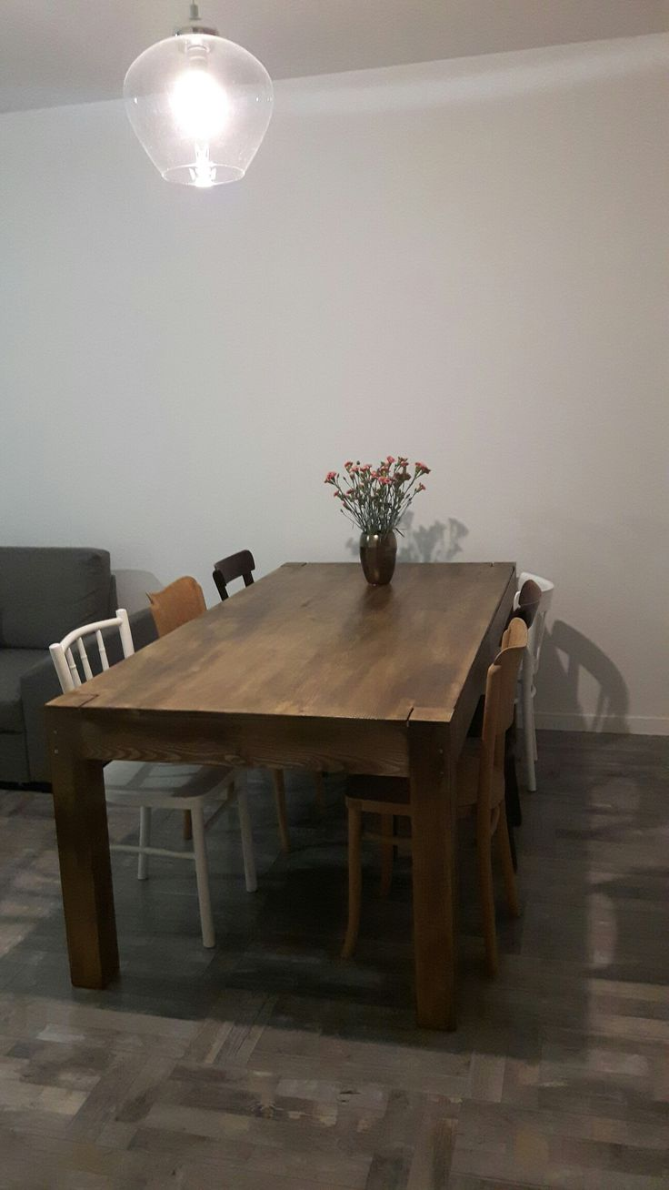 #mytable #myhome #ournewhome #myproject #interiordesign #interior #vintage #vintagestyle #home #design #table #woodtable #painting #handmade #new  #wood #chair #thonet