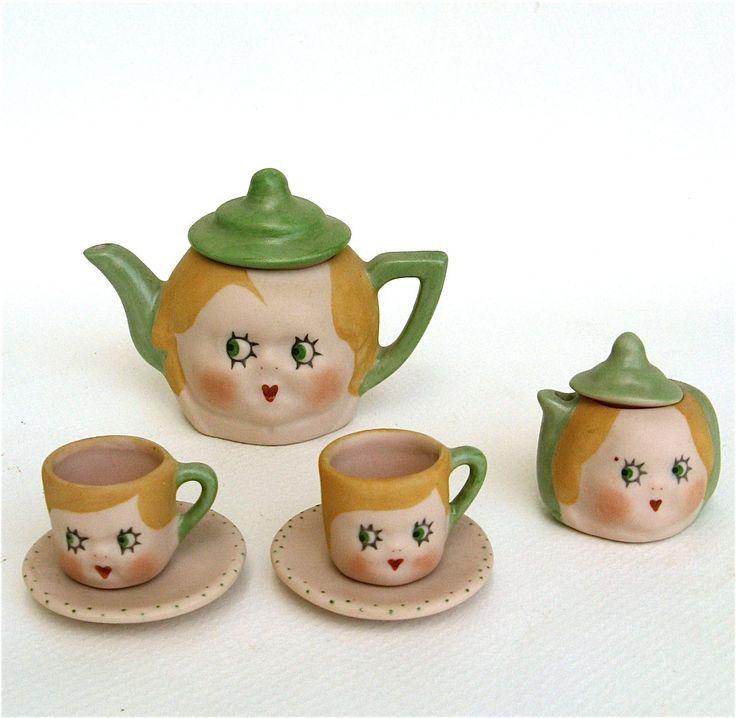 .doll tea set