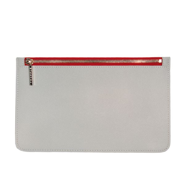 VIDA Leather Statement Clutch - doves nest-25 by VIDA lPM1napo