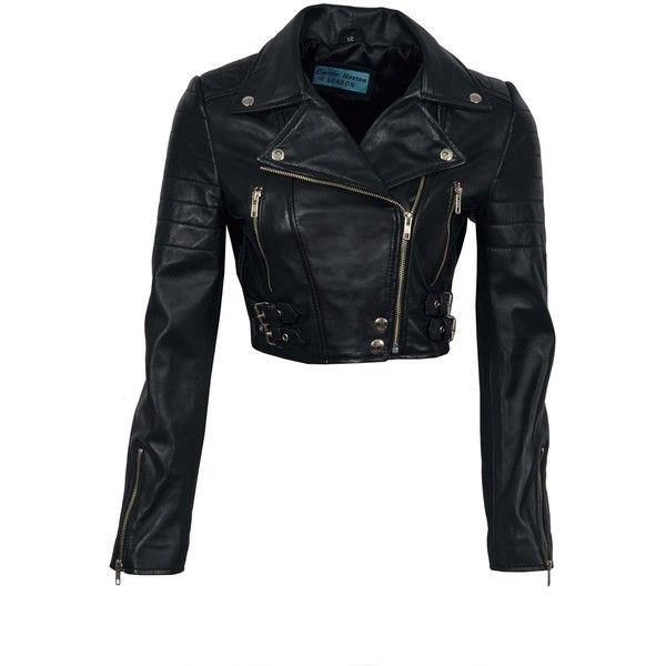 Top 25 ideas about Short Leather Jacket on Pinterest | Black ...