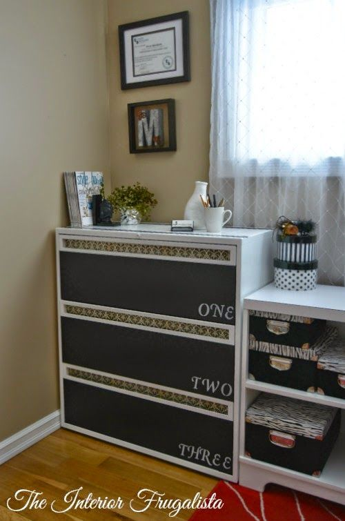 Best 25 File Cabinet Makeovers Ideas On Pinterest