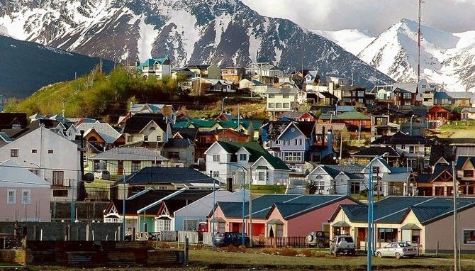 Ushuaia, Argentina -- southernmost city in the world