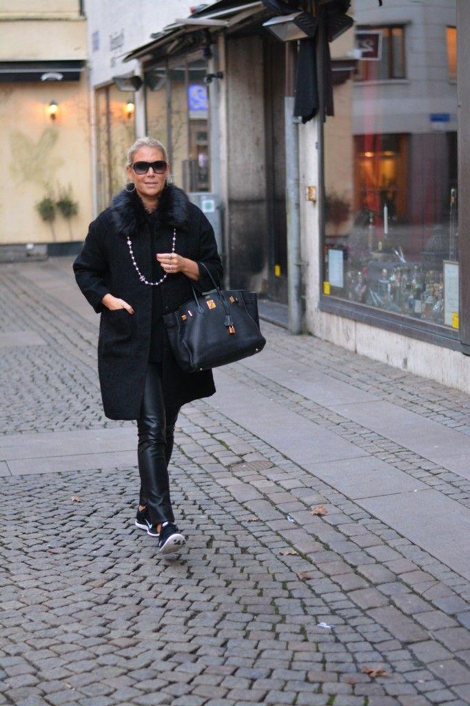 Chanel, Hermès, Birkin,Nike, Läderleggings,Göteborg, Julstaden, Dagens outfit,