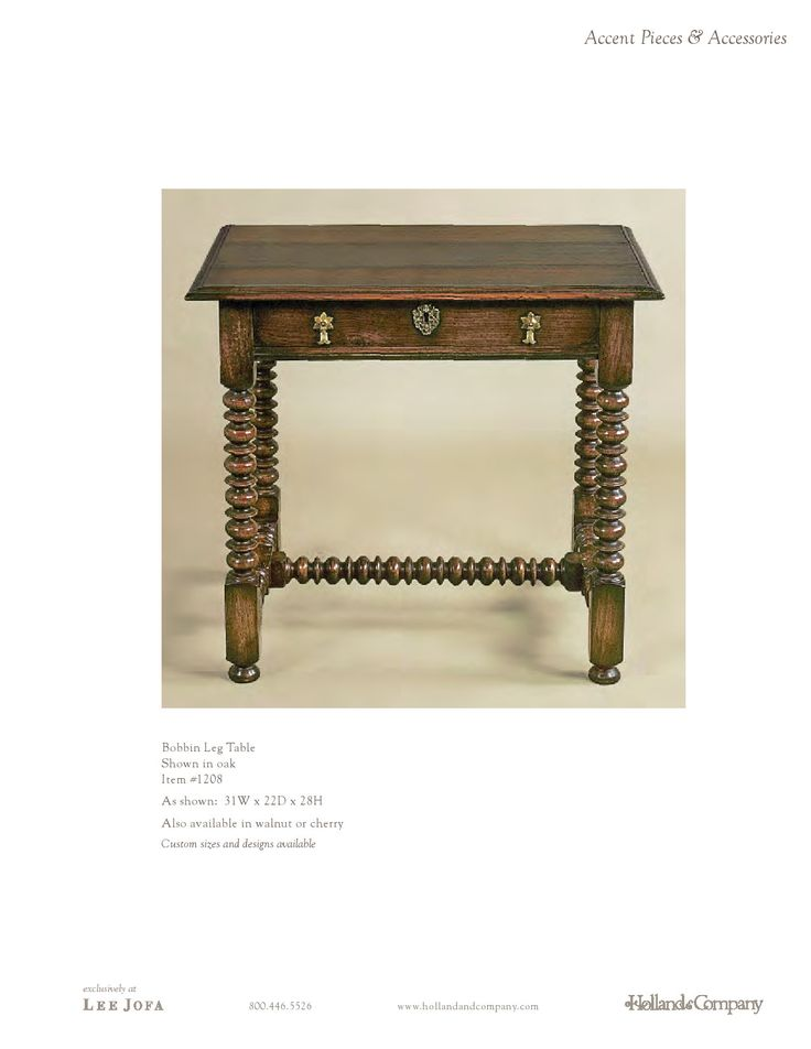 Holland & Company - Occasional Tables - Chard Side Table