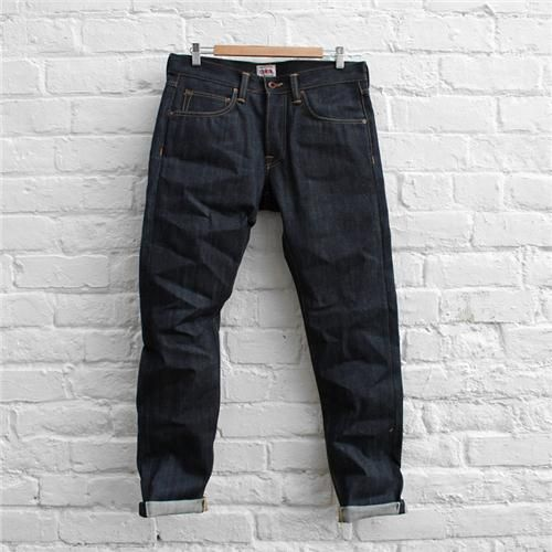EDWIN Jeans ED 55 Relaxed Red Listed Selvage FUSShop