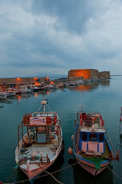 TRAVEL'IN GREECE I Heraklion Port, #Crete, #Greece, #travelingreece